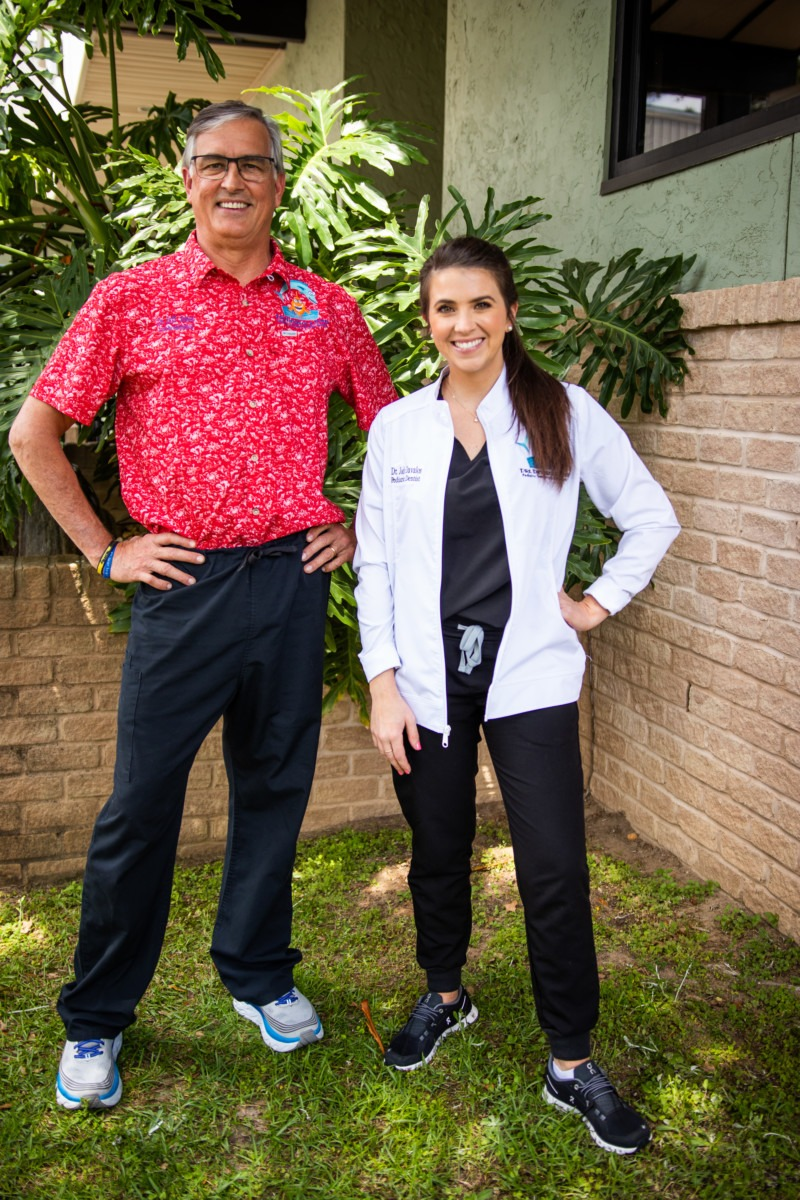 dr davalos and jones outside