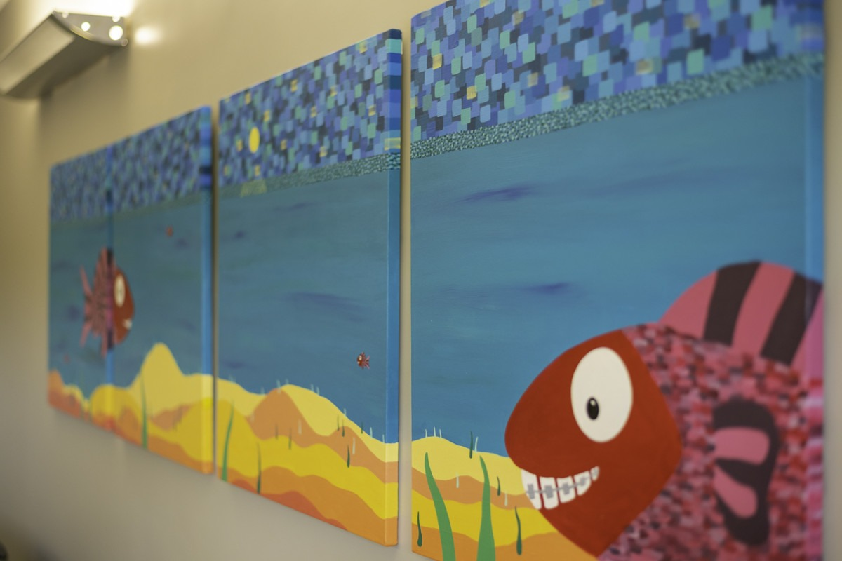 davalos and jones inside fish building
